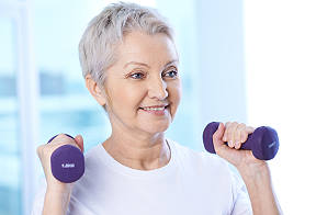 Exercise helps Alzheimer's Patient
