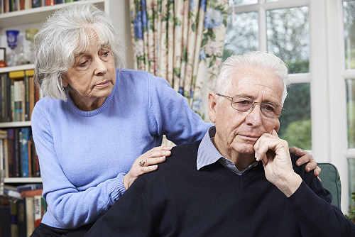 Comforting Alzheimer's Patient